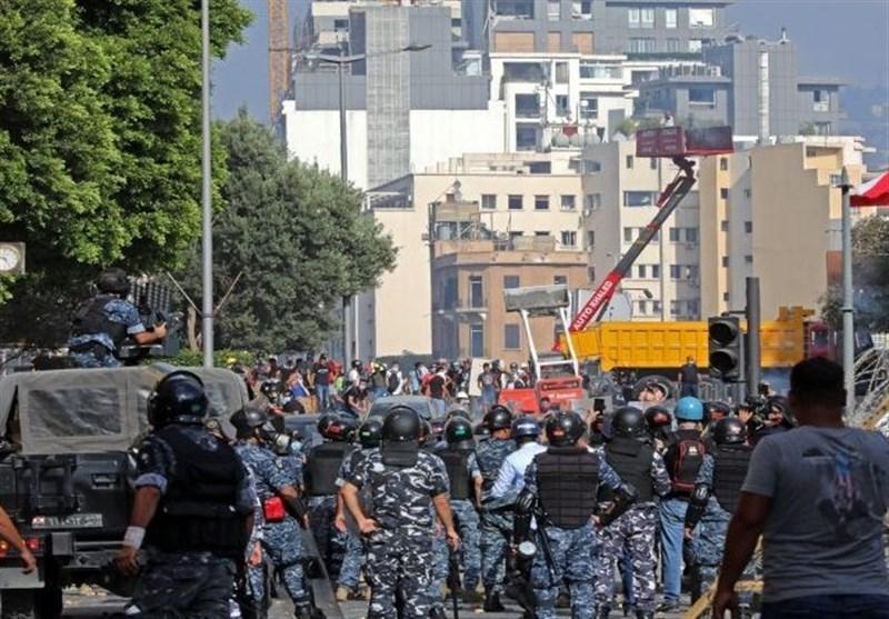 درگیری ها در مرکز بیروت تشدید شد