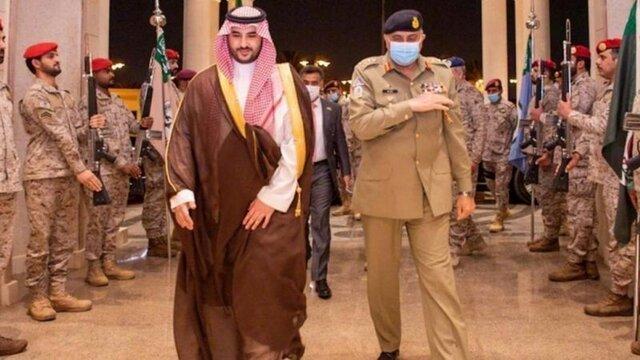محمد بن سلمان دیدار با فرمانده ارتش پاکستان را نپذیرفت