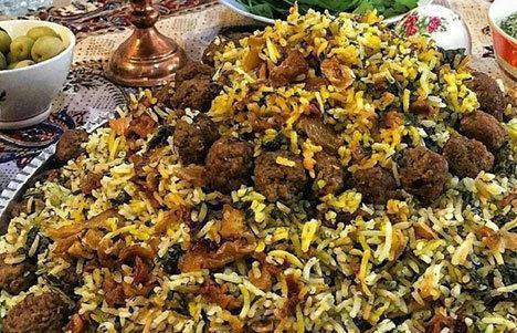 طرز تهیه قنبر پلو شیرازی؛ مقوی و خوشمزه