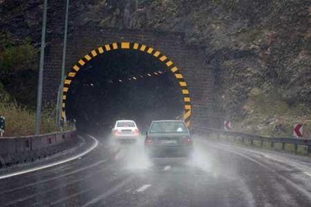 انسداد 5 جاده به علت نبود ایمنی ، کمترین تردد در جاده ها بین ساعات 3 تا 4 صبح