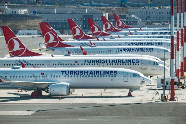 خلبانان خارجی ترکیش ایرلاینز به مرخصی بدون حقوق فرستاده شدند