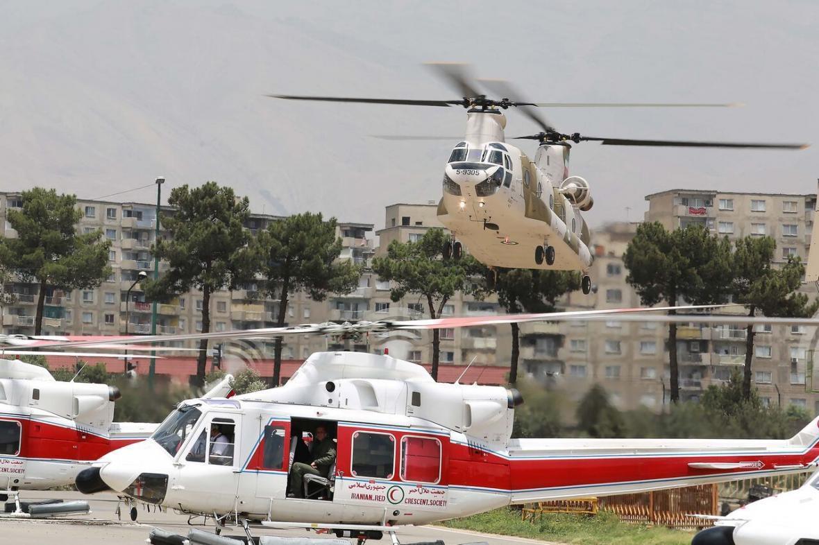 خبرنگاران بازگشت یک فروند بالگرد 412 به چرخه عملیات امداد هلال احمر