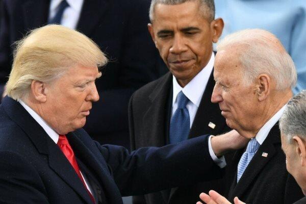 انتقال بی سروصدای قدرت به بایدن در کاخ سفید در حال اجرا است